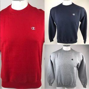 Champion Authentic Lot Of 3 Crewnecks Sweaters